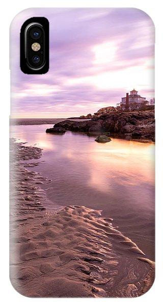 Morning Glow Good Harbor IPhone Case