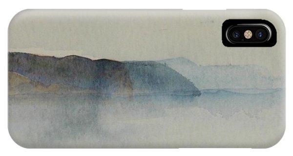 Morning Haze In The Swedish Archipelago On The Westcoast.2 Up To 28 X 28 IPhone Case