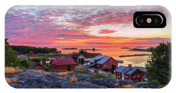 Archipelago iPhone Case - Morning In The Archipelago Sea by Veikko Suikkanen