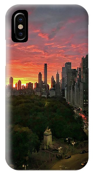 Morning In The City IPhone Case