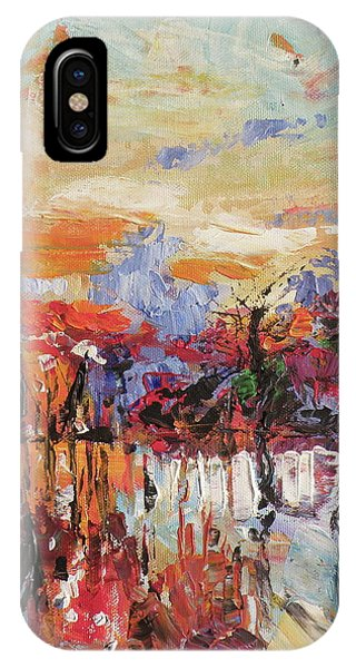 Morning In The Garden IPhone Case