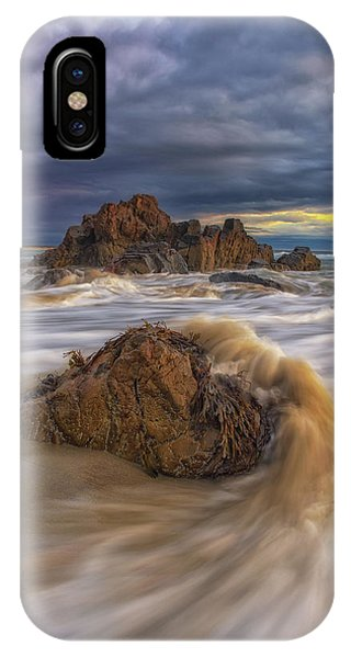 Morning Light At Marginal Way IPhone Case