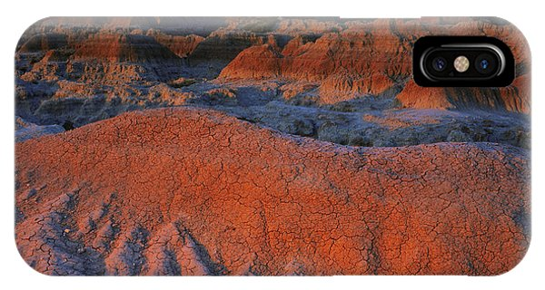 North Dakota Badlands iPhone Case - Morning Light, Badlands Np by Willard Clay