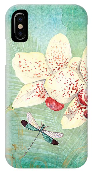 Morning Light - Dancing Dragonflies IPhone Case