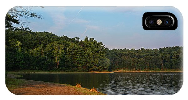 Morning Light On Walden Pond Concord Ma IPhone Case