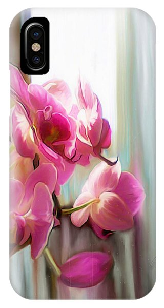 Morning Light Orchids IPhone Case