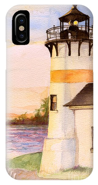 Morning, Lighthouse IPhone Case