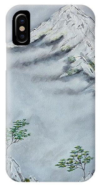 Morning Mist 2 IPhone Case