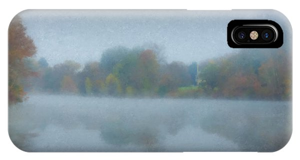 Morning Mist On Langwater Pond IPhone Case