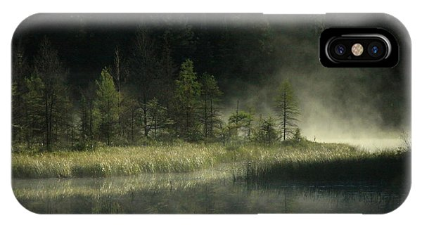 Lake Superior iPhone Case - Morning Mist On The Gunflint Trail by Joi Electa
