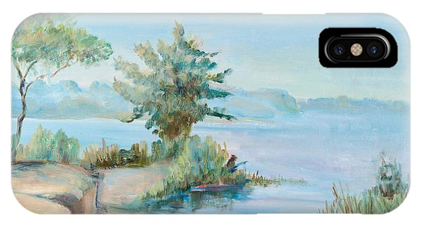Morning On A Water Basin IPhone Case