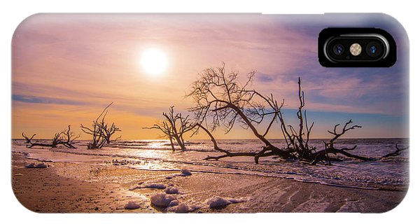 Morning On Boneyard Beach IPhone Case