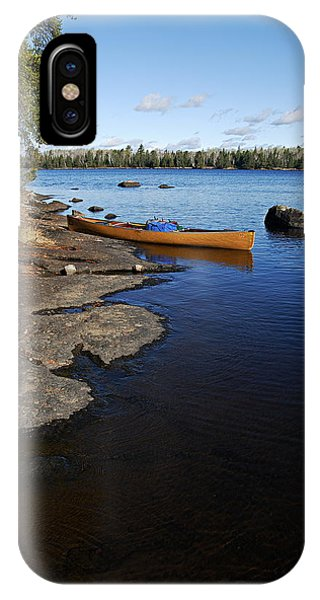 Morning On Hope Lake IPhone Case