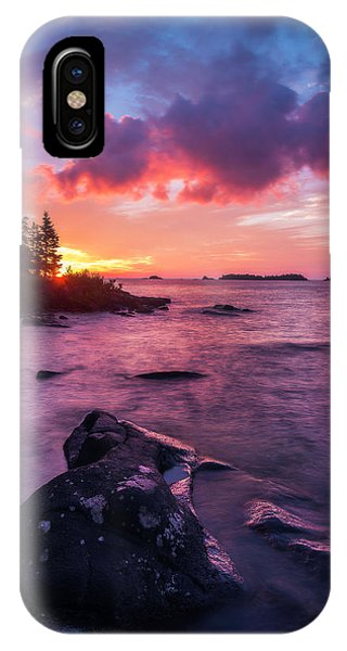 IPhone Case featuring the photograph Morning On Isle Royale by Owen Weber