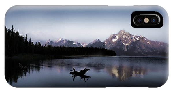 Morning On Jackson Lake IPhone Case