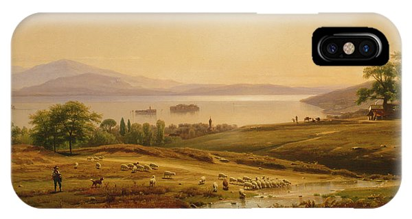 Morning On Lake Maggiore IPhone Case