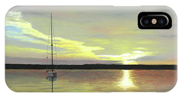 Morning On The Bay IPhone Case