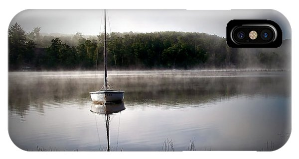Morning On White Sand Lake IPhone Case