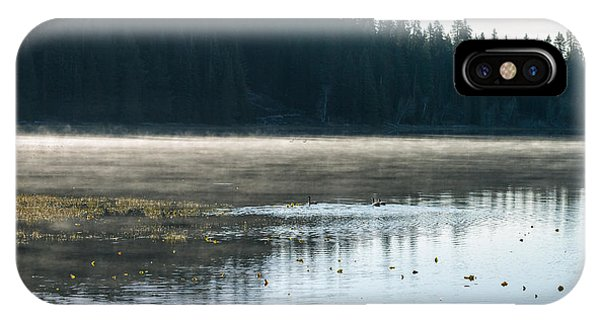 IPhone Case featuring the photograph Morning On Wilson Lake  by The Couso Collection