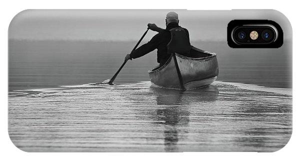 Morning Paddle IPhone Case
