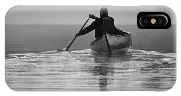Morning Paddle IPhone Case