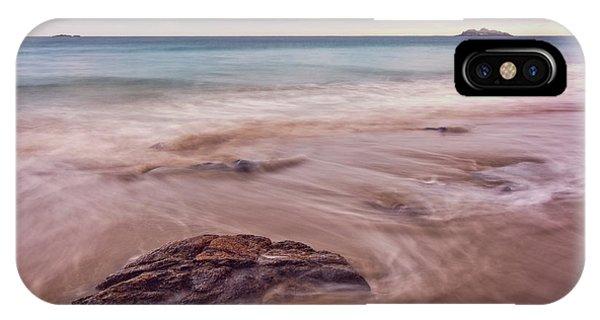 Morning Pastels Singing Beach Ma IPhone Case