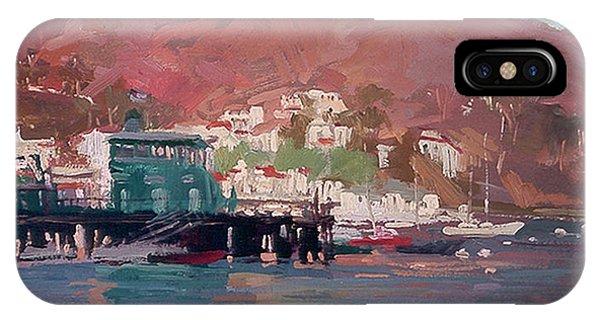 Morning Pleasures - Catalina Harbor IPhone Case