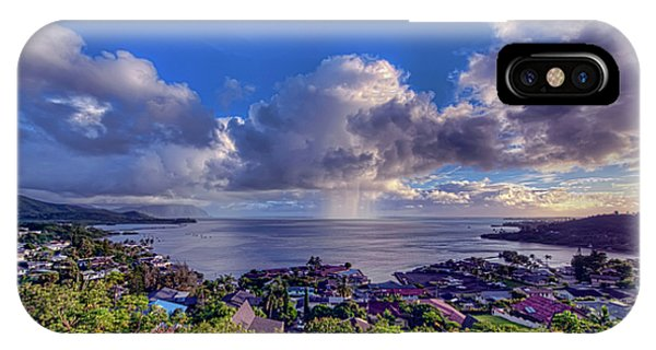 Morning Rain In Kaneohe Bay IPhone Case