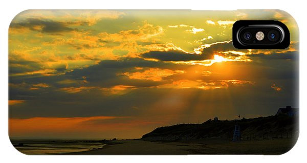 Morning Rays Over Cape Cod IPhone Case
