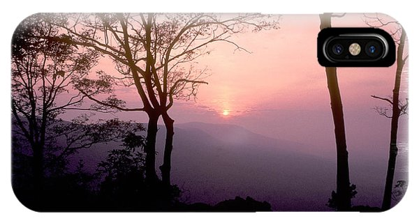 Catoctin Mountain Park iPhone Case - Morning Rose - Catoctin Mountains - Frederick County Maryland by Michael Mazaika