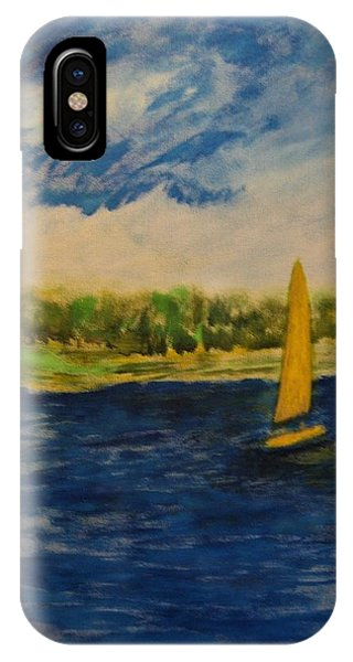 Morning Sail IPhone Case