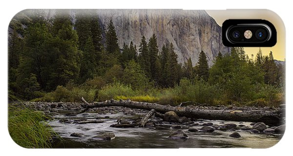 Morning Salutes El Capitan IPhone Case