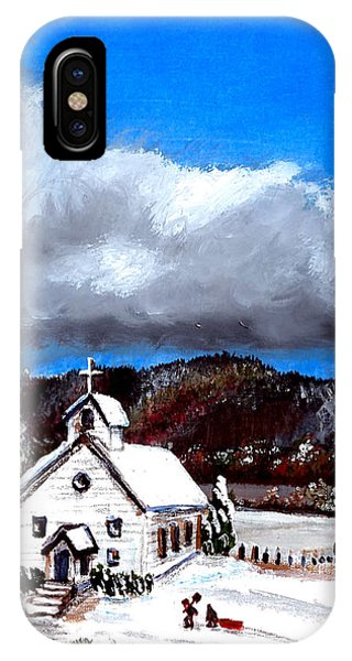 Morning Snow Ministry IPhone Case