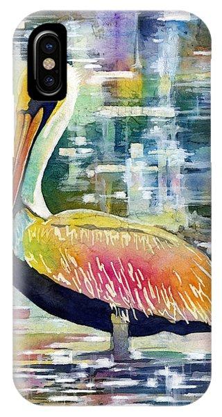 Bird Watercolor iPhone Case - Morning Solitude by Hailey E Herrera