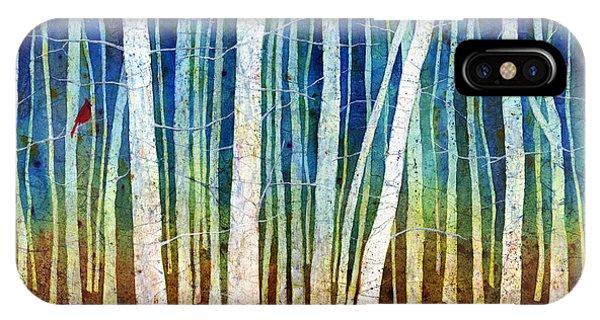 Bird Watercolor iPhone Case - Morning Song II by Hailey E Herrera