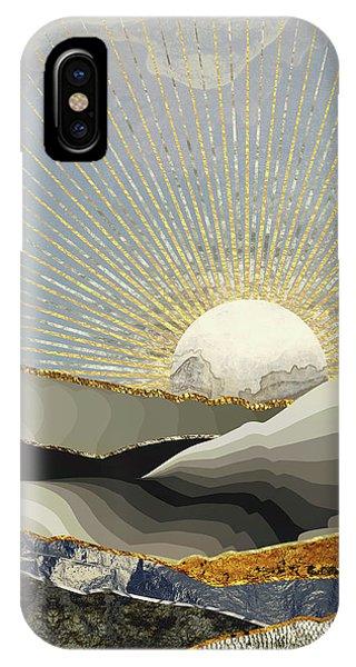 Landscapes iPhone X / XS Case - Morning Sun by Katherine Smit