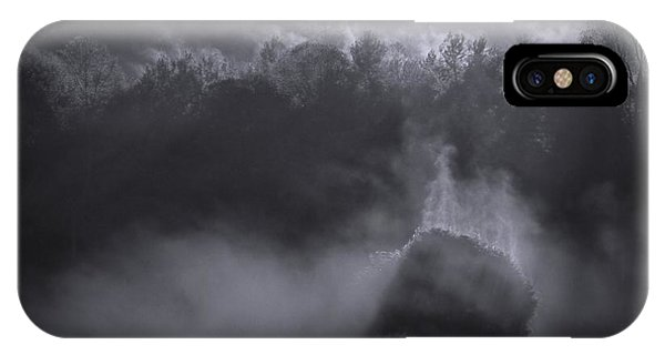 IPhone Case featuring the photograph Morning Sun Rising Fog Cades Cove by Dan Sproul