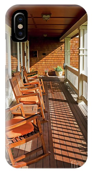Morning Sunshine On The Porch IPhone Case