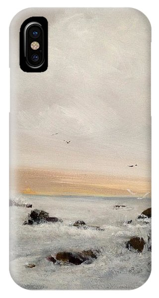 Morning Walk IPhone Case