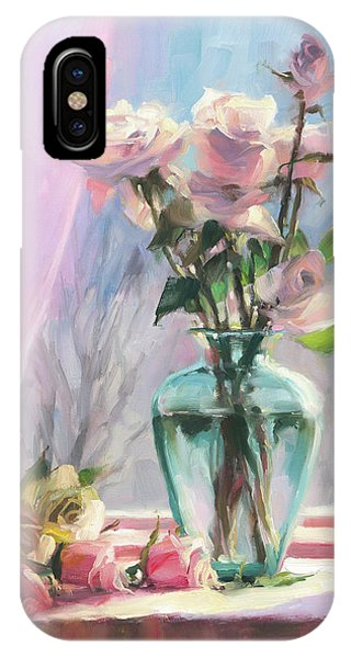 Inside iPhone Case - Morning's Glory by Steve Henderson