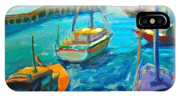 IPhone Case featuring the painting Mornington Pier by Yen
