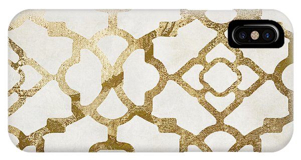 Decor iPhone Case - Moroccan Gold I by Mindy Sommers
