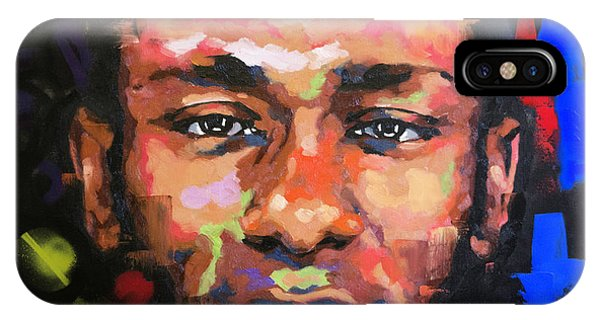 Mo iPhone Case - Mos Def by Richard Day