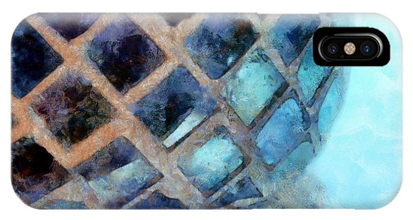 Mosaic Blues IPhone Case