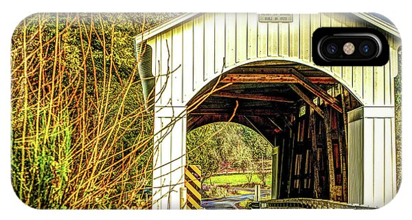 Mosby Creek Bridge IPhone Case