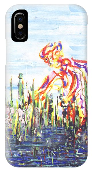 Moses In The Rushes IPhone Case