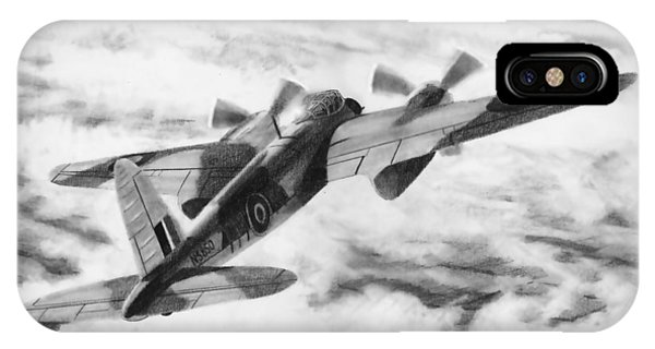 Mosquito Fighter Bomber IPhone Case