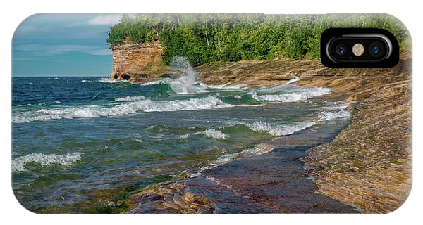 Mosquito Harbor Waves  IPhone Case