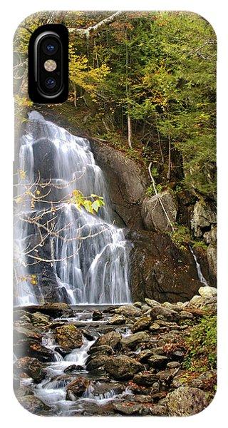 Moss Glen Falls IPhone Case