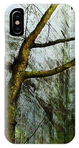 Moss On Tree IPhone Case